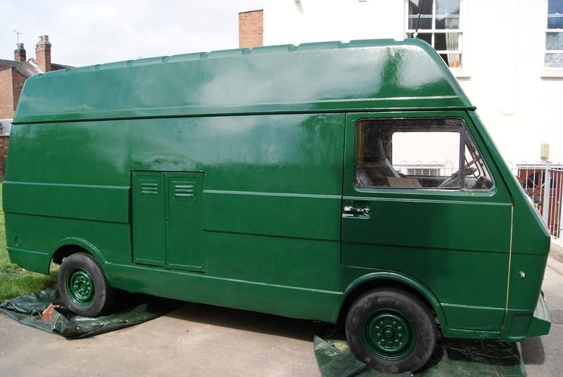 The Van, in glorious green