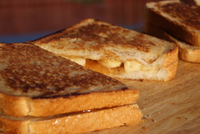 The Banoffee Toastie