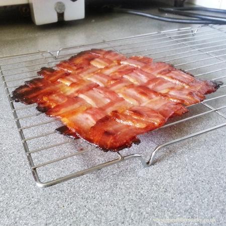 A magnificent bacon lattice.
