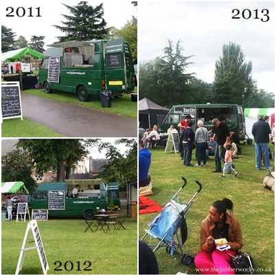 the law of festival returns at Leamington food festival