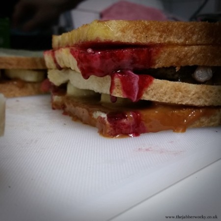 Posh toastie greatness - the candy manwich