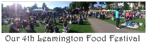 Our 4th Leamington Food Festival