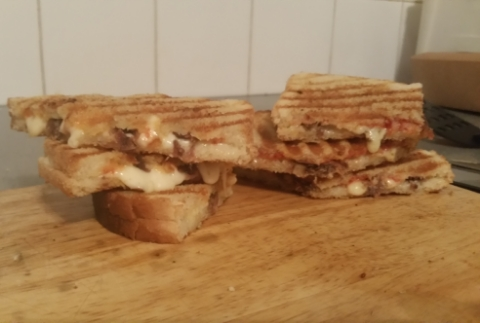 the anchovy toastie