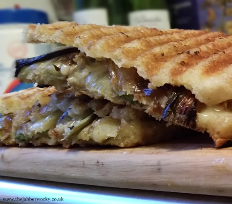duck toastie with fennel and manchego