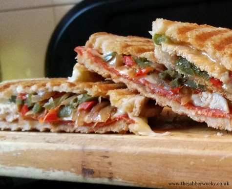 quesadilla toastie - queso