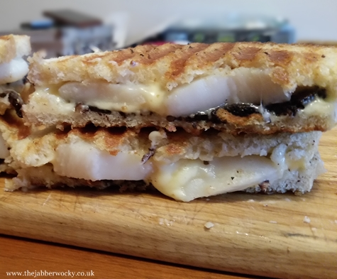 scallop toastie cheesetastic