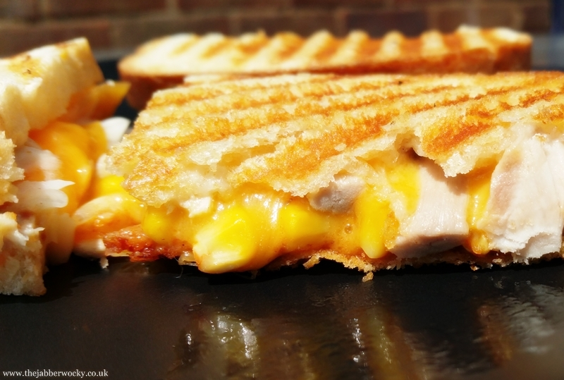 BBQ Chicken Toastie