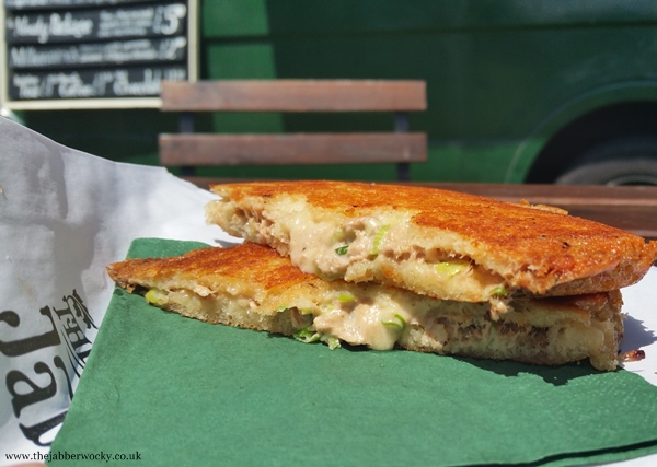 The tuna melt - not technically a grilled cheese