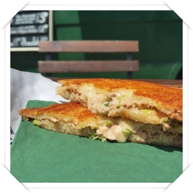 Tuna Melt Toastie