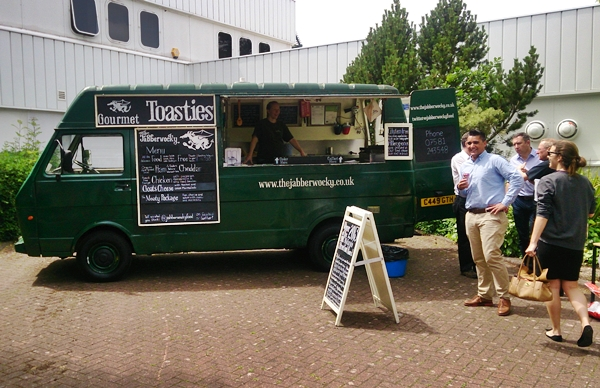 mobile catering van hire