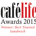 cafe life award best toasted sandwich