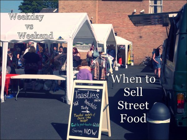 when should i sell street food