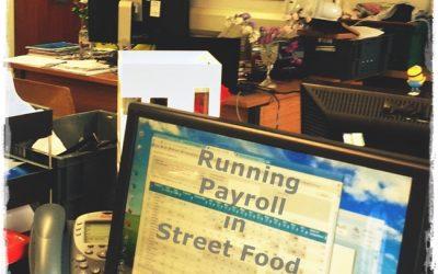 Running Payroll in Street Food