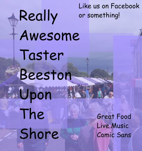 Food Market Poster for Really Awesome Taster