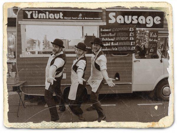 Victorian sausage street food van