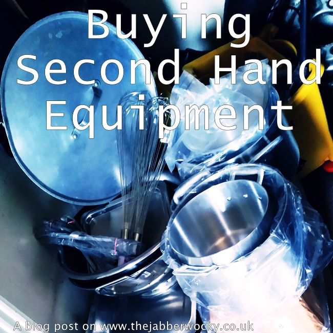 Second Hand Equipment