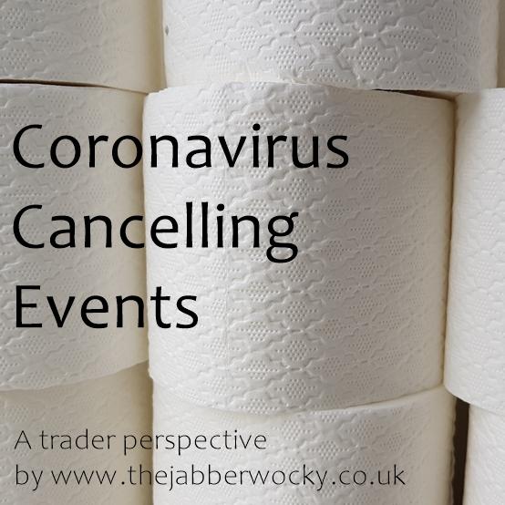 Coronavirus Cancelling Events