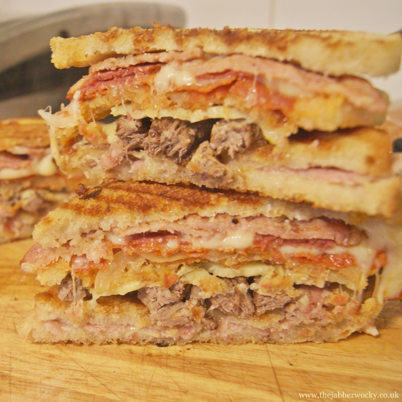 The Manwich Toasted Sandwich